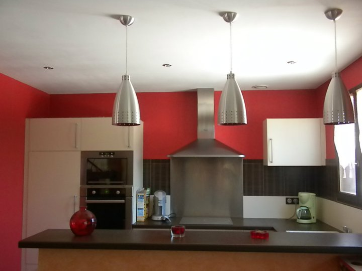 Luminaire cuisine spot design casa creativa e mobili - Spot eclairage cuisine ...